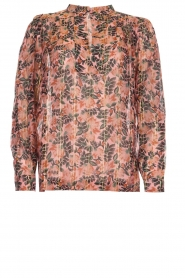 Munthe |  Floral top Noella | pink  | Picture 1