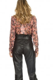 Munthe |  Floral top Noella | pink  | Picture 5