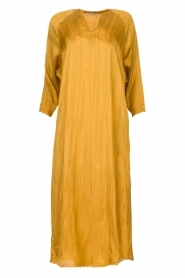 Rabens Saloner |  Wide maxi dress Bole | gold  | Picture 1
