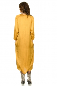 Rabens Saloner |  Wide maxi dress Bole | gold  | Picture 5