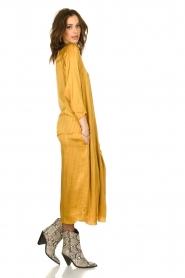Rabens Saloner |  Wide maxi dress Bole | gold  | Picture 4