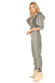Magali Pascal |  Denim jumpsuit Anna | light grey  | Picture 4