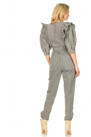 Magali Pascal |  Denim jumpsuit Anna | light grey  | Picture 5