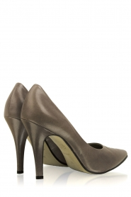Noe | Leather pumps Nicole | grey  | Picture 5