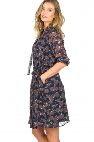 Munthe |  Floral dress Nirvana | blue  | Picture 5