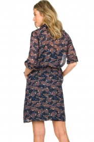 Munthe |  Floral dress Nirvana | blue  | Picture 6