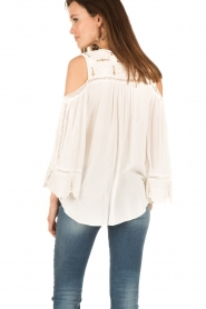 Hale Bob | Off-shoulder top Frankie | wit  | Afbeelding 5