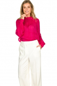 Munthe    Top with glitter details Naked   pink    Picture 2