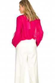 Munthe |  Top with glitter details Naked | pink  | Picture 5