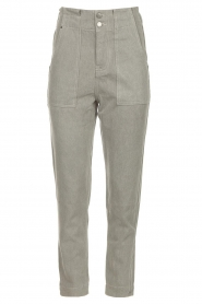 Magali Pascal |  Paperbag jeans Sisley | grey  | Picture 1