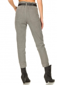 Magali Pascal |  Paperbag jeans Sisley | grey  | Picture 8