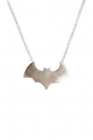 Touchable | Gouden halsketting Batman | witgoud  | Afbeelding 1