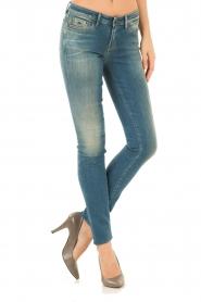 Denham | Skinny jeans Sharp Lubs Lengte 32 | blauw  | Afbeelding 2
