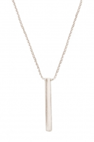 Touchable | Gouden halsketting Tube | witgoud  | Afbeelding 1