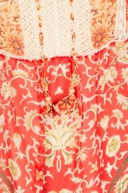 Hale Bob | Zijden blouse Barbra | rood  | Afbeelding 6