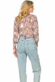 Magali Pascal |  Top with print Kali | pink  | Picture 7