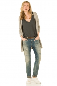 Denham | Boyfriend jeans Point lengtemaat 34 | blauw  | Afbeelding 3