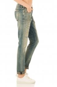 Denham | Boyfriend jeans Point lengtemaat 34 | blauw  | Afbeelding 4