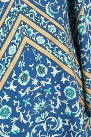 Hale Bob | Off-shoulder jurk Mari | blauw  | Afbeelding 6
