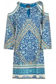 Hale Bob | Off-shoulder jurk Mari | blauw  | Afbeelding 1