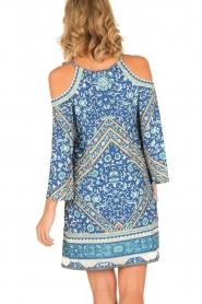 Hale Bob | Off-shoulder jurk Mari | blauw  | Afbeelding 5
