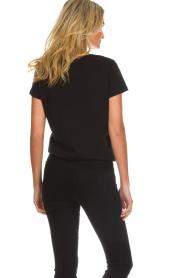 Munthe    Printed T-shirt Nostalgic   black    Picture 6