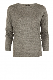 Linen top Icon | grey