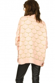 Rabens Saloner |  Oversized  sweater Cora | pink  | Picture 6