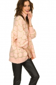 Rabens Saloner |  Oversized  sweater Cora | pink  | Picture 5