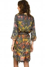 Rabens Saloner |  Tie-dye dress Carli  | green  | Picture 6