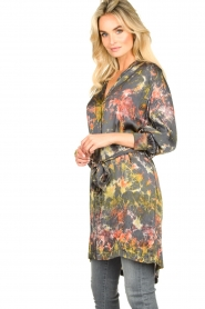 Rabens Saloner |  Tie-dye dress Carli  | green  | Picture 6