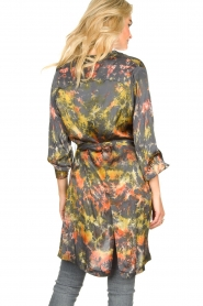Rabens Saloner |  Tie-dye dress Carli  | green  | Picture 7