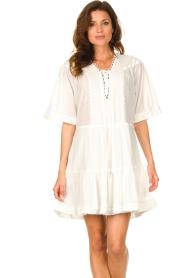 Magali Pascal |  Cotton dress Celeste | white  | Picture 2