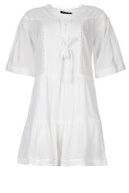 Magali Pascal |  Cotton dress Celeste | white  | Picture 1