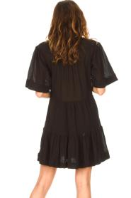 Magali Pascal |  Cotton dress Celeste | black  | Picture 7