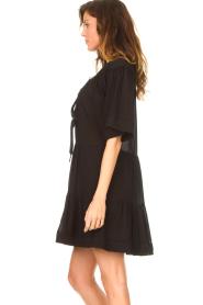 Magali Pascal |  Cotton dress Celeste | black  | Picture 6
