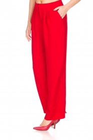 Essentiel Antwerp |  Wide leg trousers Prices | red  | Picture 5