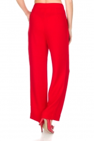 Essentiel Antwerp |  Wide leg trousers Prices | red  | Picture 6