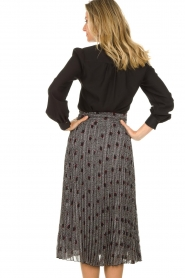 Dante 6 |  Blouse with bow Cuzco | black  | Picture 5