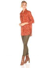 By Malene Birger | Blouse Abracca | rood  | Afbeelding 3