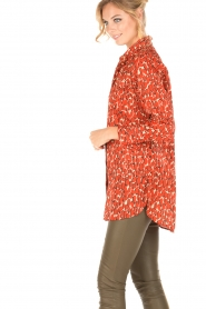 By Malene Birger | Blouse Abracca | rood  | Afbeelding 4
