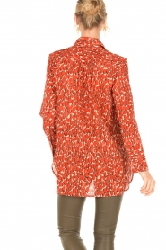 By Malene Birger | Blouse Abracca | rood  | Afbeelding 5