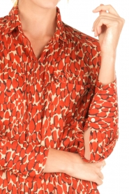 By Malene Birger | Blouse Abracca | rood  | Afbeelding 6