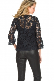 Essentiel Antwerp |  Lace top Pimono | Dark blue  | Picture 5