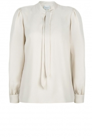 Dante 6 |  Blouse with bow Cuzco | beige  | Picture 1