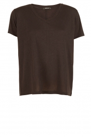 Denham |  T-shirt Cinder | black  | Picture 1