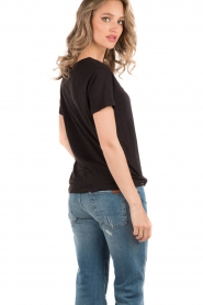 Denham |  T-shirt Cinder | black  | Picture 5