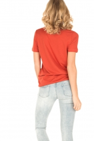 By Malene Birger | T-shirt Levery | rood  | Afbeelding 5
