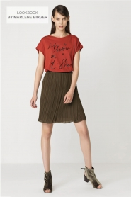 By Malene Birger | T-shirt Levery | rood  | Afbeelding 7