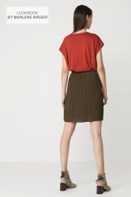 By Malene Birger   T-shirt Levery   rood    Afbeelding 8
